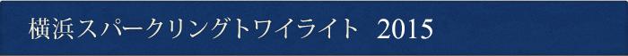 横浜スパークリングトワイライト 2015